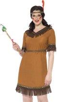 Indianen pakje - Wild West verkleedkleding dames - Maat M - 40-42