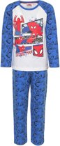 Spiderman pyjama maat 94cm Blauw
