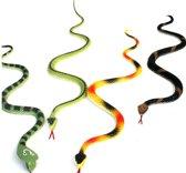 Slangen Plastiek 34 cm - 72 stuks