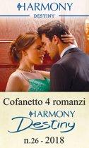 Cofanetto 4 Harmony Destiny n.26/2018