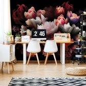 Fotobehang Flowers | VEXXXXL - 416cm x 290cm | 130gr/m2 Vlies