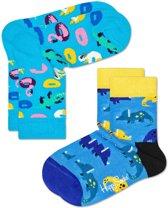 Happy Socks Kids 2-pack Pool Party Sokken 0-12 mnd, Maat 15/18