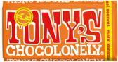Tony's Chocolonely reep Melk Karamel Zeezout - 15 x 180 gram