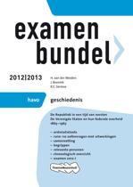 Examenbundel HAVO - Geschiedenis 2012/2013