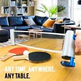 Portable Tafeltennis net - reis - kwaliteit - universeel - compact - sport - cadeau - fun - outdoor