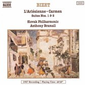 Bizet: L'Arlesienne, Carmen - Suites / Bramall, Slovak PO