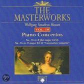 Mozart: Piano concertos Volume 18