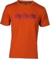 Wolf Camper Indiana t-shirt oranje