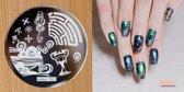 Stamping Plate 033 / nagel stempel- sjabloon