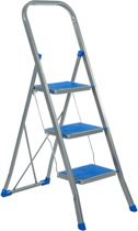 Trapladder Color Step blauw 3 treden