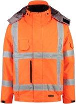 Tricorp Pilotjack - Werkjas 403006 - fluor oranje - Maat XS