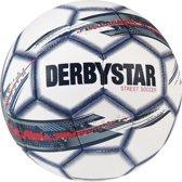 Derbystar Street Soccer Voetbal - wit/grijs/rood/zwart