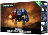 Games Workshop Easy To Build Primaris Redemptor Dreadnought Speelgoed actiefiguurtje Volwassenen en kinderen