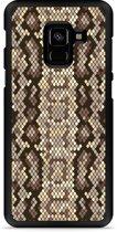 Galaxy A8 2018 Hardcase Hoesje Snakeskin Pattern