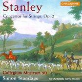 Stanley: Concertos for Strings Op 2 / Simon Standage, et al