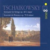 Tchaikovsky: Serenade for Strings, Souvenir de Florence / Davies et al