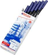 edding-1300 teken/kleur stift blauw