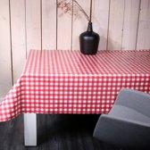 d-c-fix - Tafelzeil - Avanti rood-wit - 240x140 cm
