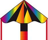 Invento Eenlijnskindervlieger Simple Flyer Black Rainbow 85 Cm