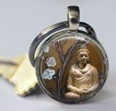 Buddha sleutelhanger outdoor accesoires