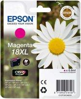 Epson 18XL (T1813) - Inktcartridge / Magenta / Hoge Capaciteit