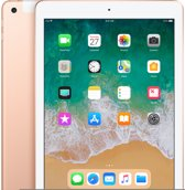 Apple iPad (2018) - WiFi + Cellular (4g) - 32GB - Goud