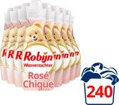 Robijn Intense Rose Chique wasverzachter - 8x30 wasbeurten -  voordeelverpakking