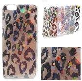 Apple iPhone 7 Plus/8 Plus - hoesje Bubbly Panterprint - TPU - Back Cover