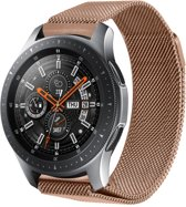 Milanese Design Watch band voor de Samsung Galaxy Watch 46 mm - Rosé Goud