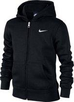 Nike NSW Hoodie Ya76 FZ Sportvest Kinderen - Zwart