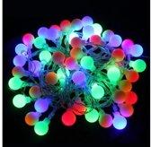 Gekleurde Feestverlichting / Party lights LED voor Binnen of Buiten - 50 Lampen - 14.8 Meter | Feest verlichting | Kerstverlichting | Party Lights voor in de Tuin of Binnen | Buitenverlichting