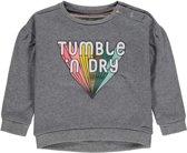 Tumble 'N Dry Meisjes Sweatshirt Jeel - Grey Middle Melange - Maat 68