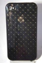 Retro Look Siliconen Backcase iPhone 4/4s