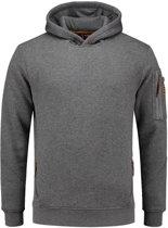 Tricorp Sweater Premium Capuchon - grijs - 304001 - maat M