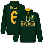 Zuid Afrika Kolisi 6 Rugby Team Hoodie - Groen - M