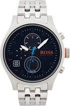 Boss Orange - HO1550023 - Amsterdam - Horloge - Staal - 49mm - Zilverkleurig