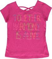 Losan Meisjes Shirt Roze met opdruk - Maat 128