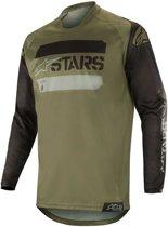 Alpinestars Crossshirt Racer Tactical Black/Military Green-S