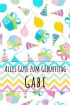 Alles Gute zum Geburtstag Gabi