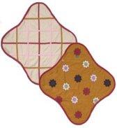 Lodger Wrapper Fleece - Cinnamon