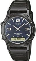 Casio AW-49HE-2AVEF - Horloge - 38.8 mm - Kunststof - Zwart
