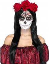 Day of the Dead rozen haarband