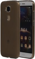 Huawei G8 TPU Hoesje Transparant Grijs