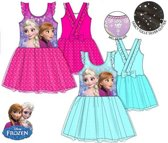 Frozen prinsessenjurk turquoise maat 104