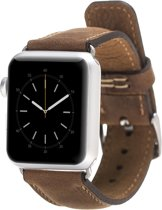 Bomonti Leather Leren bandje - Apple Watch Series 1/2/3 (42mm) - Bruin