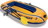 Intex Challenger 2 Opblaasboot met roeispanen en pomp 68367NP