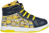 Minions-Sneaker-high---with-Fake-Fur-marineblauw-Schoenmaat-30