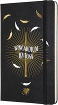 Moleskine classic notitieboek Harry Potter - Wingardium Leviosa - Large - Hard cover - Gelinieerd
