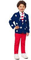 Mr. USA Opposuits™ kostuum voor kinderen - Verkleedkleding