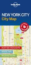 Lonely Planet: City Map New York (1st Ed)